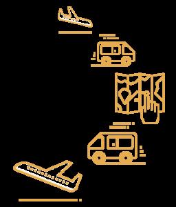 recogida y entrega de autocaravana en el aeropuerto