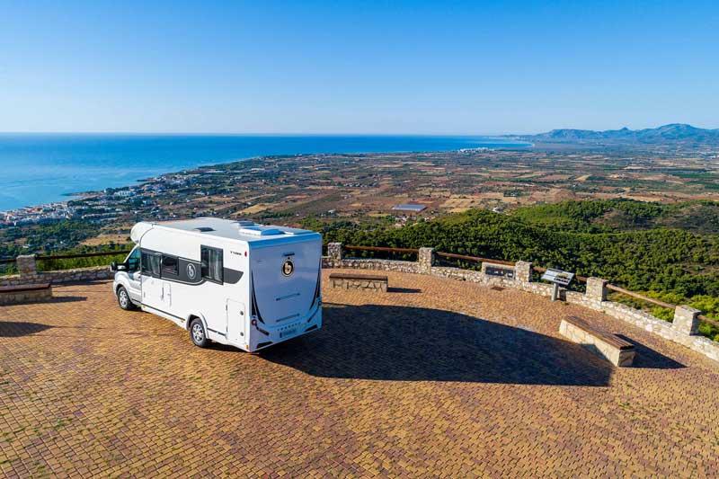 alquilar autocaravana Tessoro en Galicia