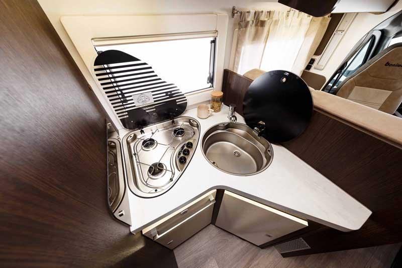 Cocina autocaravana Tessoro 495